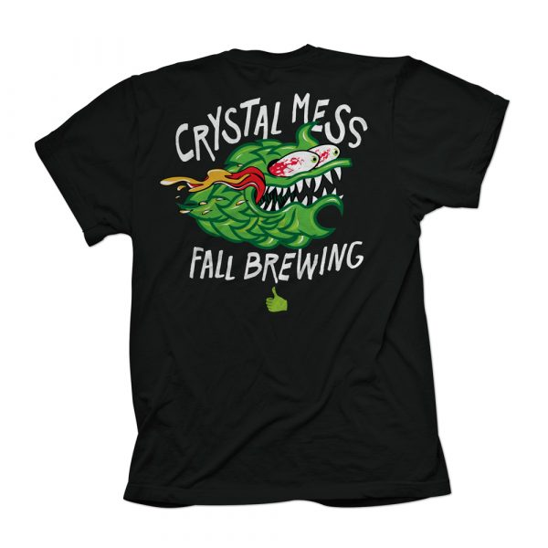 Crystal Mess Shirt Back