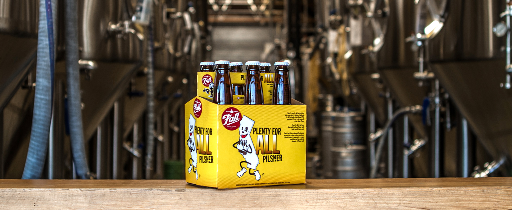 6-Pack of Plenty For All Pilsner