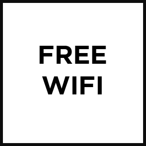 Free WiFi Badge