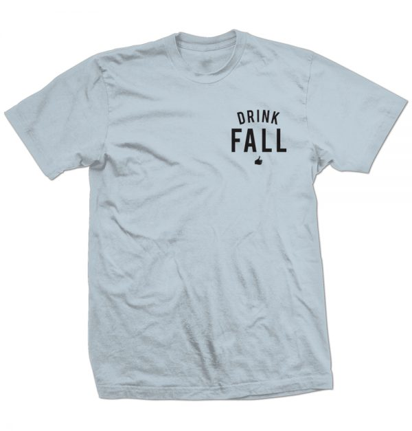 Blue Drink Fall Shirt Front