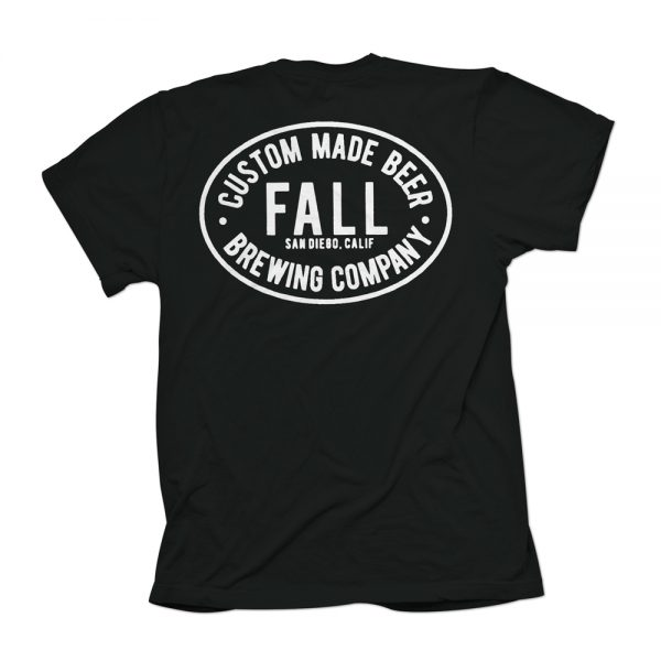 Black Custom Made Beer Shirt Back