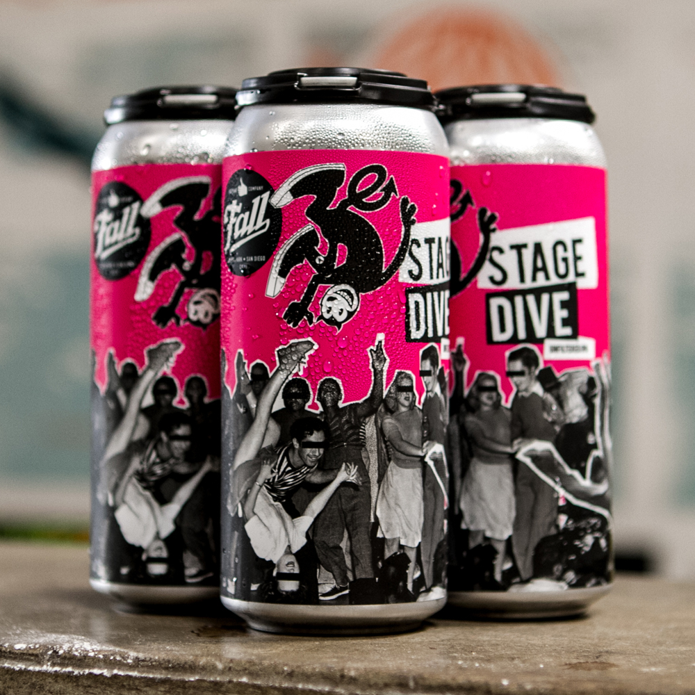 4-Pack of Stage Dive Cans