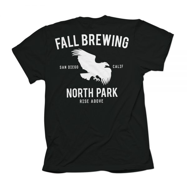 Black North Park Shirt Back