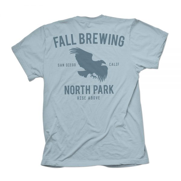 Blue North Park Shirt Back
