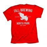 Red North Park Shirt Back