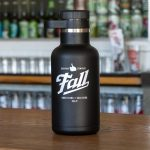 Fall Brewing 64oz Hydroflask Growler in black