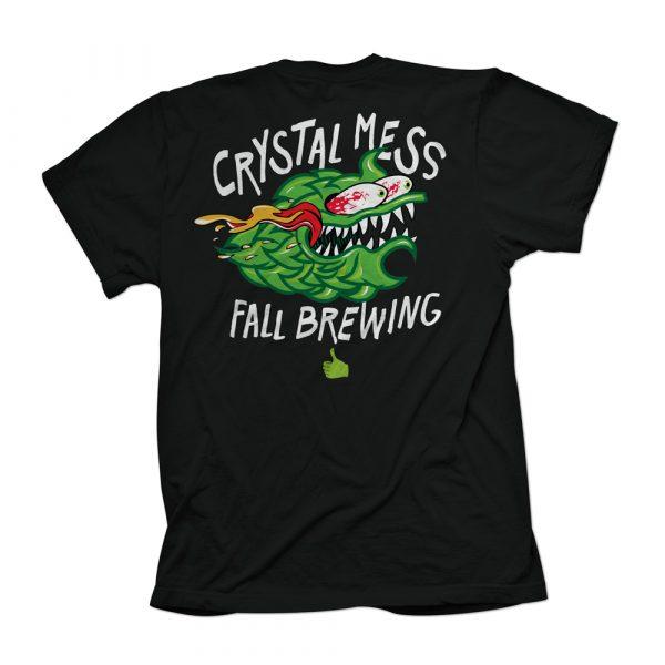 Crystal Mess Shirt Back