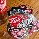 Fall Brewing Rad Packs on Bar top