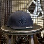 Black script embroidered Fall Brewing Company hat