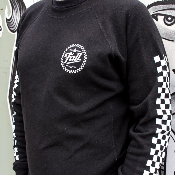 Checkers Crew Neck Side