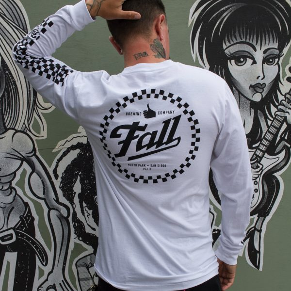 Checkers Long Sleeve - White Back