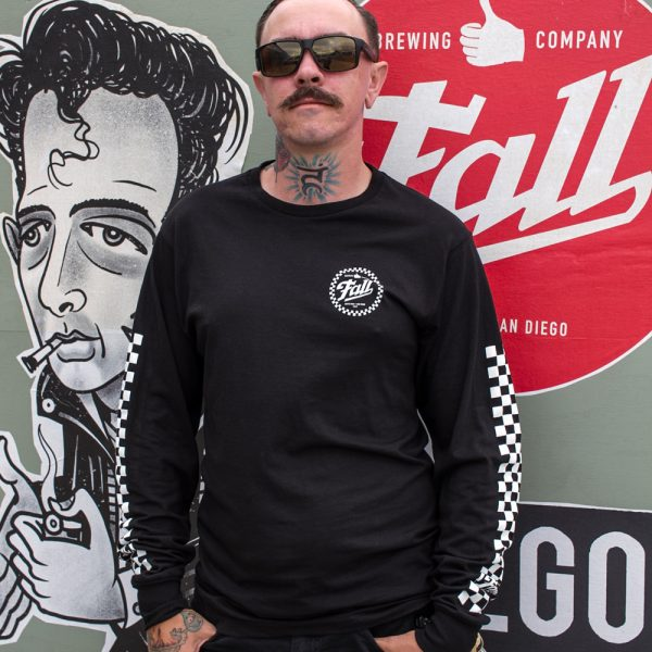 Checkers Long Sleeve - Black Front