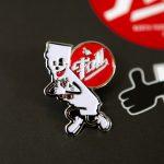 Enamel Pin of CA Mascot